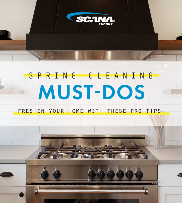 Top Spring Cleaning Tips from SCANA Energy